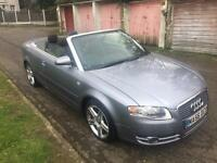 A4 AUDI 1.8T CONVERTIBLE PETROL CAR WITH FULL SERVICE HISTROY & MOT