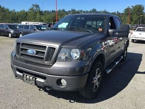 2008 Ford F-150 FX4 sunroof leather