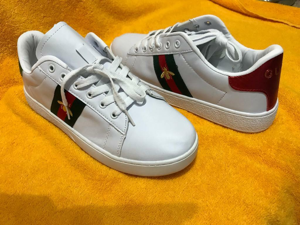 9981dfbef Gucci Style Ace Bee Trainers UK Size 8 TO 8.5 | in Loughborough ...