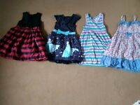 Girls dresses bundle 4-5&5-6yrs ml5