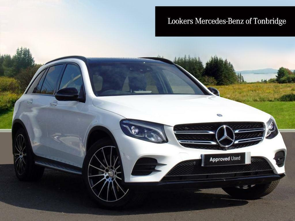 mercedes benz glc class glc 250 d 4matic amg line premium plus white 2017 01 31 in tonbridge. Black Bedroom Furniture Sets. Home Design Ideas