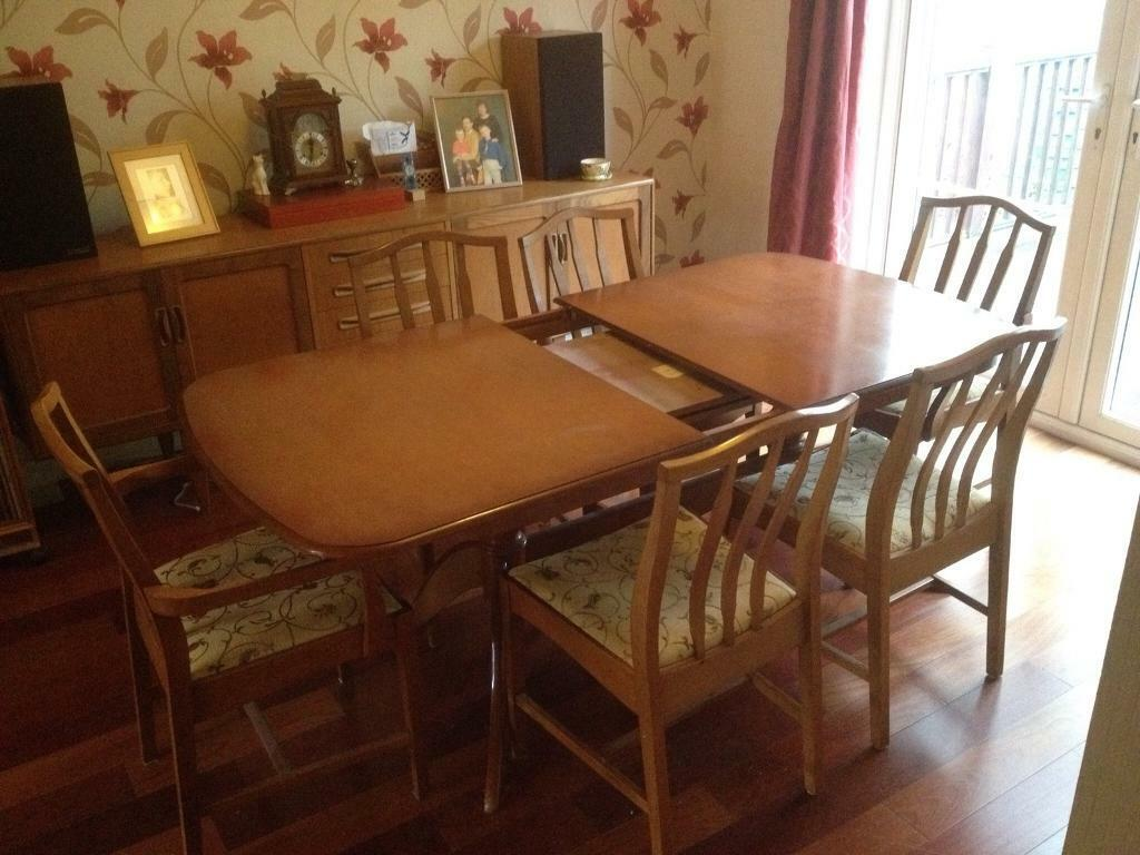 Astonishing Solid Cherry Dining Table 6 Chairs In Newtownabbey County Antrim Gumtree Download Free Architecture Designs Grimeyleaguecom