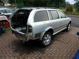 Breaking for spares mk1 skoda octavia estate turbo 4x4