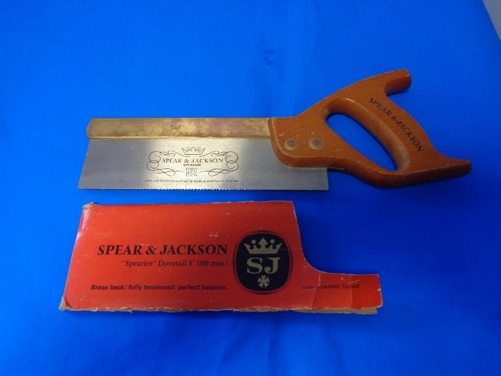 Spear and Jackson Superior No 52 Dovetail Saw