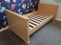 Mammas and Pappas Cot bed and Toy Box/Storage Chest