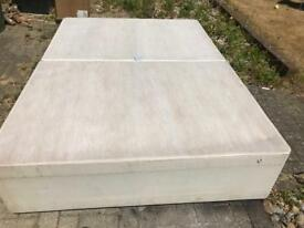 Double Dewan bed with mattress - urgent