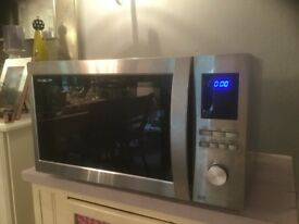 Sharp 1000w microwave oven with grill and convection