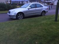 MERCEDES BENZ C320 AVANTGARDE MOTED 7 MONTHS FULL SERVICE HISTORY £975 PX WELCOME