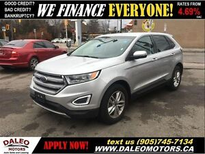 2016 Ford Edge SEL AWD LEATHER 36 KM BACK UP CAMERA