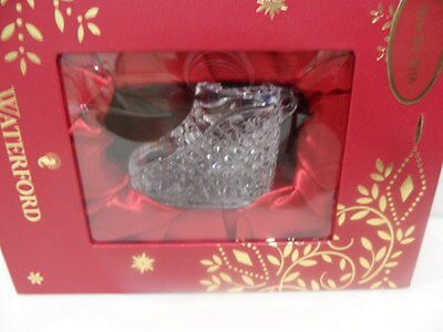NEW Waterford 2017 Crystal BABY'S FIRST CHRISTMAS Boy Girl Ornament - BRAND NEW