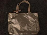 Brand new Kipling large metallic shopper bag rrp £79.00