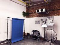 Two desks for rent in the lovely Print Village Studios - Peckham