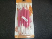 Brand New Cake Baking Modelling tool set 8 pieces