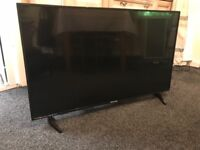 For sale blaupunkt 43inch full HD led tv with freeview HD & built in JBL sound system