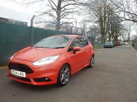 Ford Fiesta 1.6 EcoBoost ST-2 Hatchback, Molton Orange, 3dr -3 months warranty included