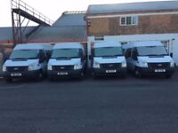 FORD TRANSIT 17 SEATER MINIBUS JOB LOT OF 4 X 17 SEATER