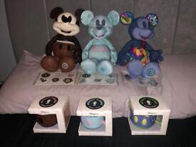 Mickeys Memories (April, May and June) Plush, Pins and Mugs