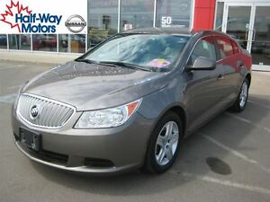 2010 Buick LaCrosse CX | Low km's & Luxurious