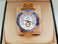 New Swiss Rolex Yacht Master II Gold for sale!