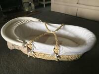Mamas and papas Millie and boris moses basket