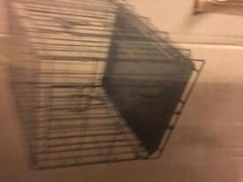 Dog crate, including full cover