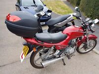 125cc Lifan Mirage 2013 1 years MOT 125 Learner legal Commuter motorcycle, moped,scooter like Honda