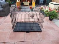 HEAVY DUTY DOG CRATE