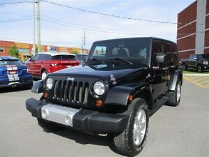 2011 Jeep WRANGLER UNLIMITED SAHARA WITH SOFT AND HARD TOP