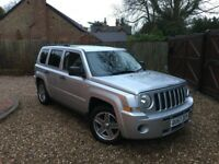 2009 Jeep Patriot 2.0 CRD Sport Station Wagon 4x4 5dr! FULL SERVICE HISTORY! NEW TURBO! GREAT VALUE!