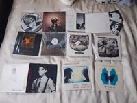 David Sylvian and Sylvian/Sakamoto-various vinyl single & albums