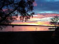 Beachfront Vacation Rental Pelican Lake MB.