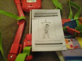 CHAD VALLEY BABY DOOR BOUNCER, STILL IN BOX WITH FULL INSTRUCTIONS