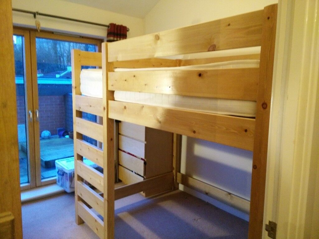 Double High Sleeper Loft Bed In Clifton Bristol Gumtree