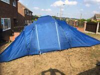 Tent. 6 Man. Ozark trail. 1500 Head. Good Condition. 2 Bedroom. 2 Door