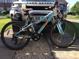 "Mongoose 24"" mountain bike"