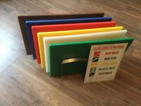 Chopping boards- colour coded
