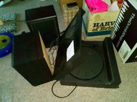 Panasonic turntable and speakers for sale