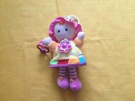 Lamaze doll Baby Pram toy