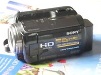 SONY CAMCORDER: HDR XR105E