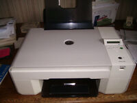 Dell all-in-one printer and scanner, good condition, including ink