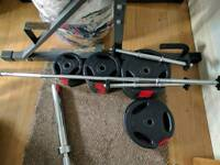 50kg Barbell and Dumbell Set