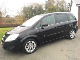 VAUXHALL ZAFIRA ELITE 2010 ONLY 60000 MILES ONE OWNER FROM NEW FULL SERVICE HISTORY