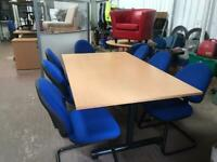 Beech Meeting Table