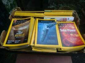 National geographic magazine's