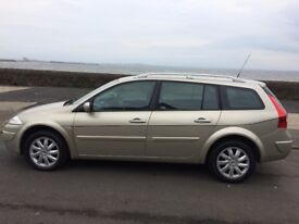 2008 renault megane dynamique dci -1461 cc 5 door estate.12 months mot /warranty