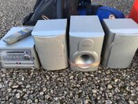 Wharefedale super bass hifi / surround sound system