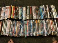 Sortment of dvds