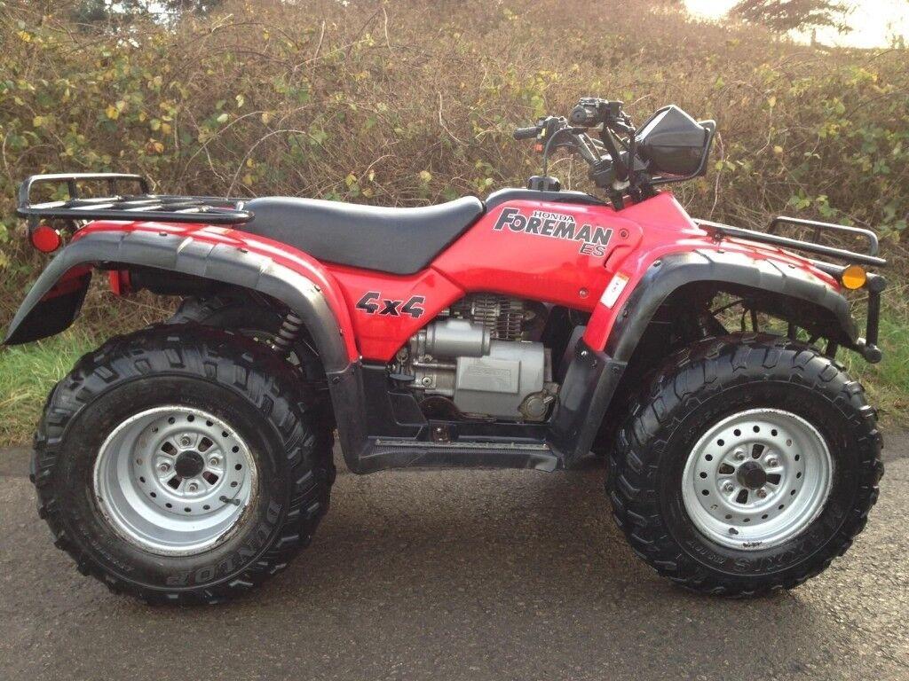 HONDA TRX 450 4x4 FOREMAN FARM QUAD ROAD LEGAL ATV 420 500 ...