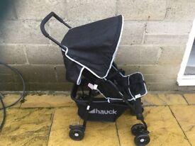 Foldable Hauck pushchair
