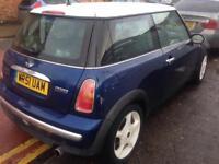2002 51 Reg Mini Cooper 1.6 Petrol Blue Good Runner